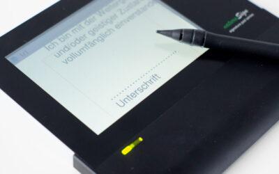Rechtssichere, biometrische Patientenunterschrift – Mit BioSig und den naturaSign Pads